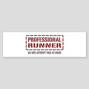 Professional Runner Bumper Sticker