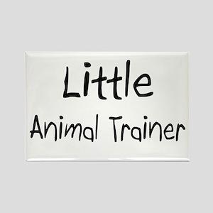 Little Animal Trainer Rectangle Magnet
