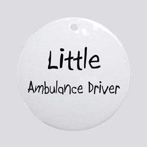 Little Ambulance Driver Ornament (Round)