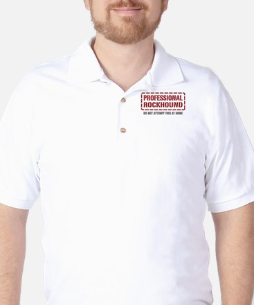 Professional Rockhound Golf Shirt