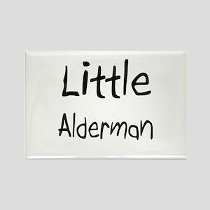 Little Alderman Rectangle Magnet