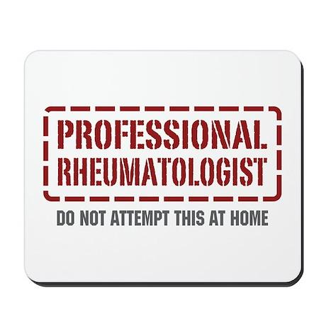 Professional Rheumatologist Mousepad