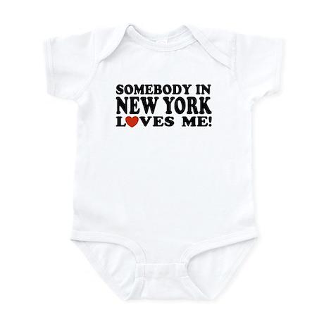 Somebody in New York Loves Me! Infant Creeper