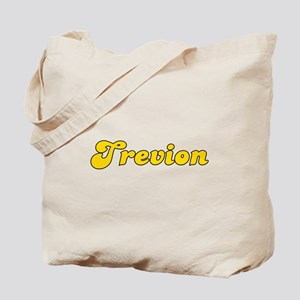 Retro Trevion (Gold) Tote Bag