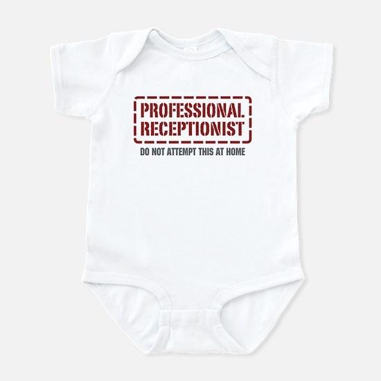Professional Receptionist Infant Bodysuit