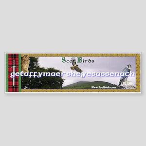 Scotbirds Bumper Sticker