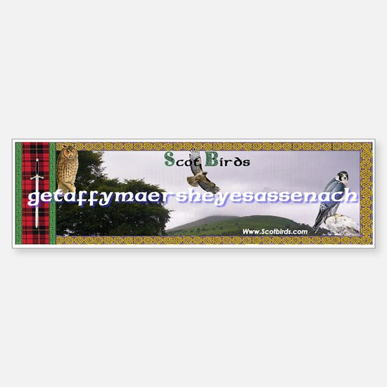 Scotbirds Bumper Bumper Bumper Sticker