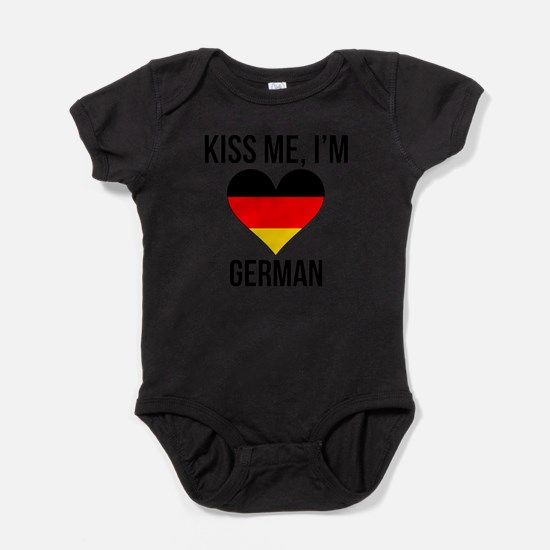 Kiss Me Im German Body Suit