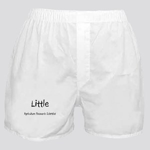 Little Agriculture Research Scientist Boxer Shorts