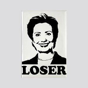 Hillary Clinton - Loser Rectangle Magnet