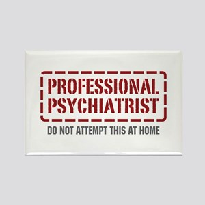 Professional Psychiatrist Rectangle Magnet