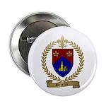 BROCHU Family Crest Button