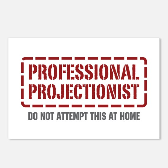 Professional Projectionist Postcards (Package of 8