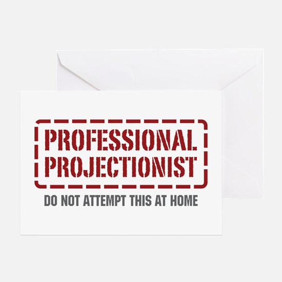 Professional Projectionist Greeting Card