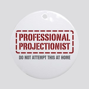Professional Projectionist Ornament (Round)