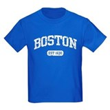 Boston massachusetts Kids T-shirts (Dark)
