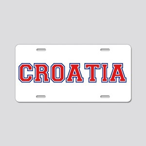 Croatia Logo Aluminum License Plate