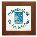 Roswell Framed Tile