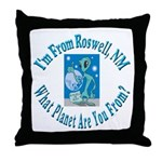Roswell Throw Pillow