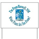 Roswell Yard Sign