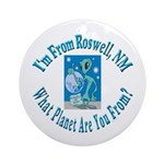 Roswell Ornament (Round)