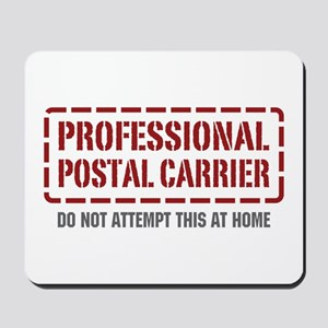 Professional Postal Carrier Mousepad