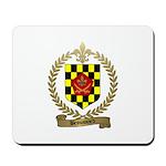 BROUSSARD Family Crest Mousepad