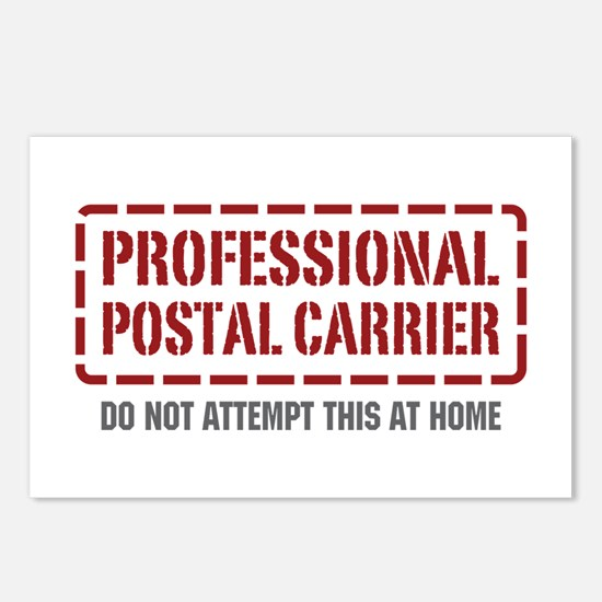 Professional Postal Carrier Postcards (Package of