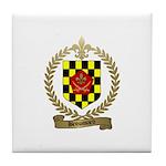 BROUSSARD Family Crest Tile Coaster