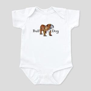 Bulldog by Cherry ONeill Infant Bodysuit