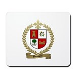 BUSSIERE Family Crest Mousepad