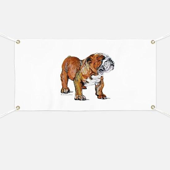 Bulldog by Cherry ONeill Banner