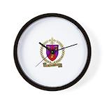 CAISSY Family Crest Wall Clock