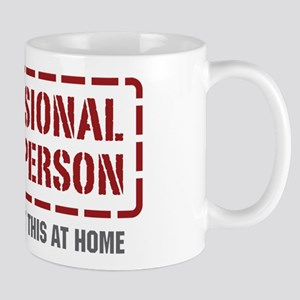 Professional Phone Person Mug