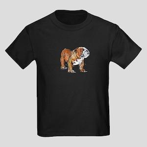 Bulldog by Cherry ONeill Kids Dark T-Shirt