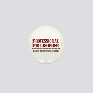 Professional Philosopher Mini Button