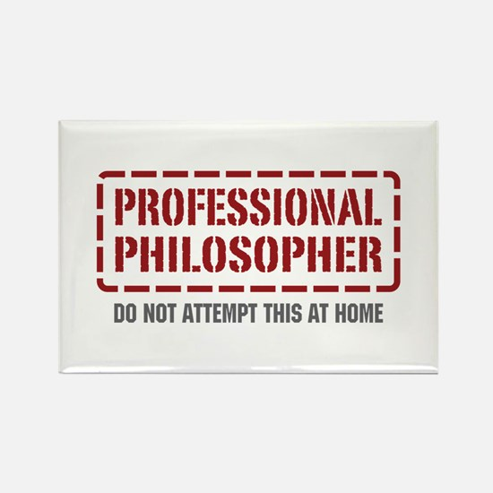 Professional Philosopher Rectangle Magnet