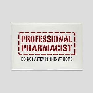 Professional Pharmacist Rectangle Magnet