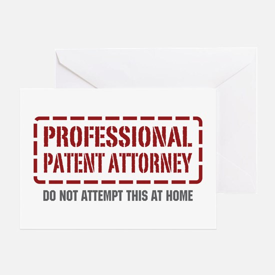 Professional Patent Attorney Greeting Card