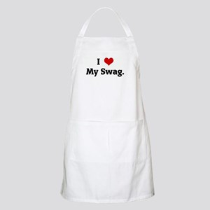 I Love My Swag. BBQ Apron