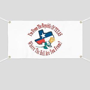 Texas 3 Banner