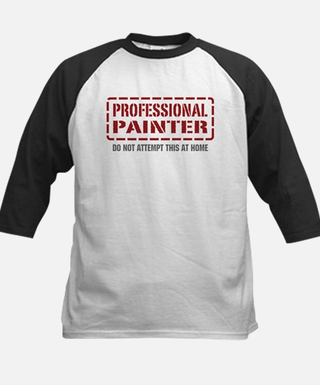 Professional Painter Kids Baseball Jersey