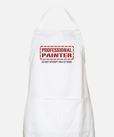 Professional Painter BBQ Apron