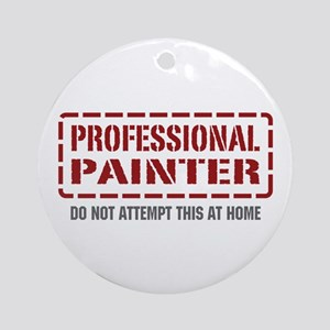 Professional Painter Ornament (Round)