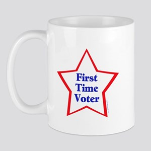 First Time Voter Star Mug
