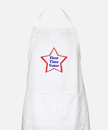 First Time Voter Star Apron