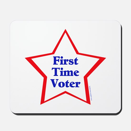 First Time Voter Star Mousepad