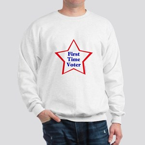 First Time Voter Star Sweatshirt