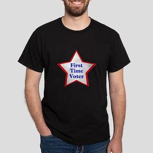 First Time Voter Star Dark T-Shirt
