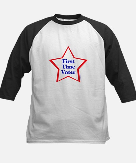 First Time Voter Star Kids Baseball Jersey